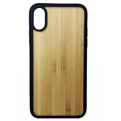 Plain Bamboo Case for iPhone X, XS, XS Max, XR
