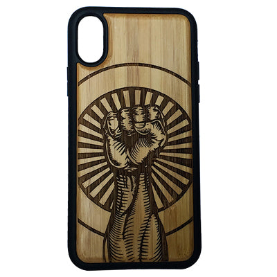 Raised Fist Case Cover for iPhone X, XS, XS Max, XR