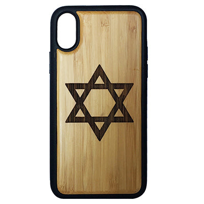 Star of David Case Cover for iPhone X, XS, XS Max, XR