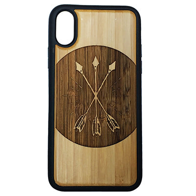 Three Arrows Case Cover for iPhone X, XS, XS Max, XR