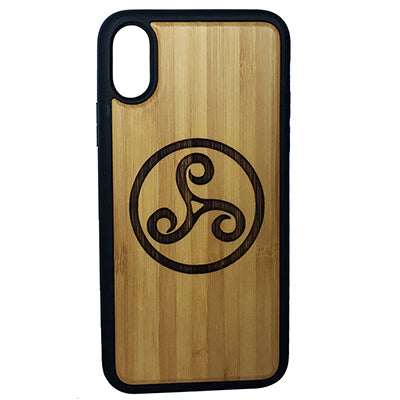 Triskele Symbol Case Cover for iPhone X, XS, XS Max, XR