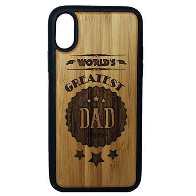 World's Greatest Dad Case Cover for iPhone X, XS, XS Max, XR