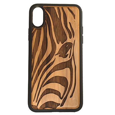 Zebra Case Cover for iPhone X, XS, XS Max, XR