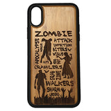 Zombie Attack Case Cover for iPhone X, XS, XS Max, XR