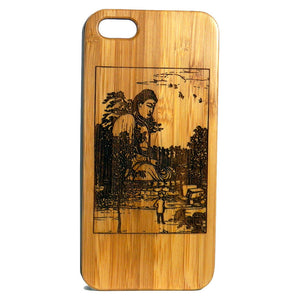 Buddha Kamakura Laser-Engraved Case for iPhone 8, 8 Plus, 7, 7 Plus, 6, 6S, 6 Plus, SE, 5, 5S