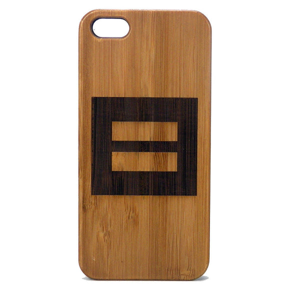Marriage Equality Laser-Engraved Case for iPhone 8, 8 Plus, 7, 7 Plus, 6, 6S, 6 Plus, SE, 5, 5S