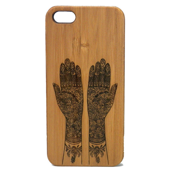 Mehndi Laser-Engraved Case for iPhone 8, 8 Plus, 7, 7 Plus, 6, 6S, 6 Plus, 6S Plus, SE, 5, 5S