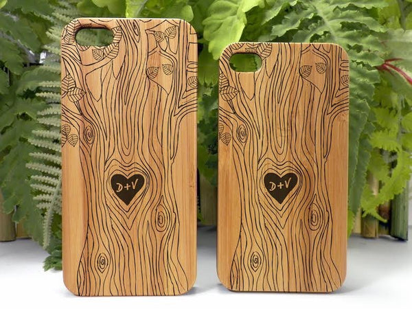 Custom Love Initials Case