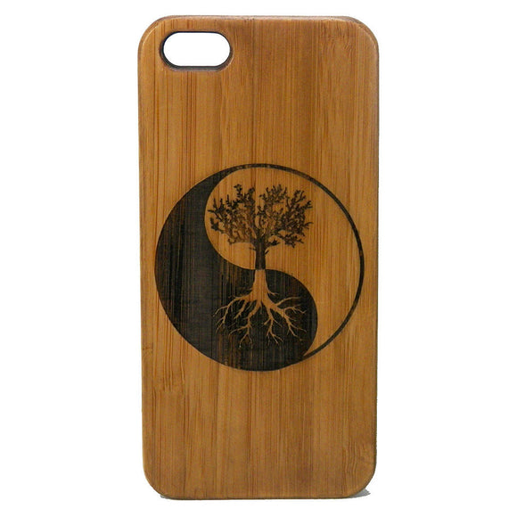 Tree of Life iPhone Case | X, 8, 8 Plus, 7, 7 Plus, 6, 6S, 6 Plus, SE, 5, 5S. Bamboo Wood Cover