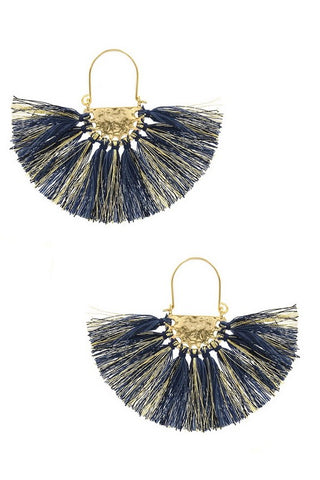 Crescent Fan Earring - Ava Rae Boutique
