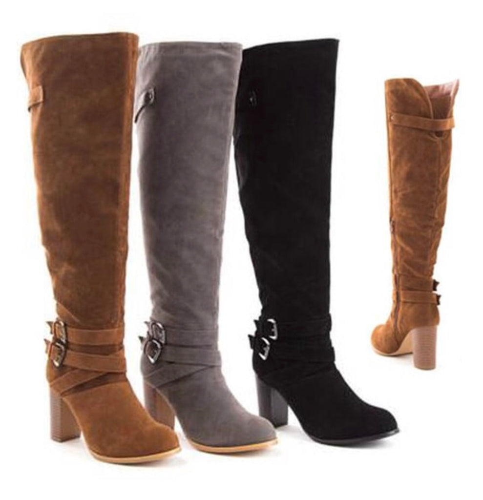 Jump into Fall Boots - Ava Rae Boutique