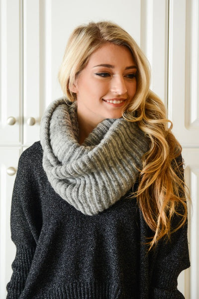 Baby It's Cold Outside Infinity Scarf - Ava Rae Boutique