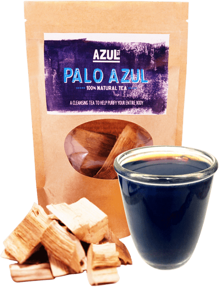 Palo Azul in resealable bag