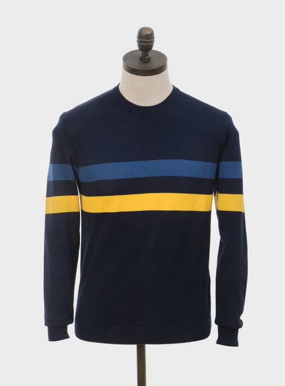 Art Gallery 'Scene' navy blue jumper