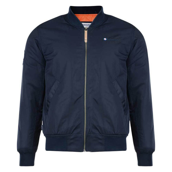 SALE! Lambretta MA1 flight jacket - navy