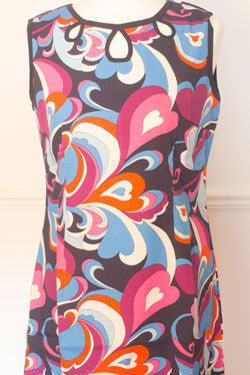 Mad Cap Psychedelic A line sleeveless dress - D37/19
