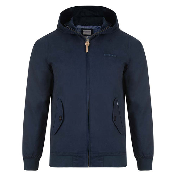 SALE!Lambretta navy hooded harrington