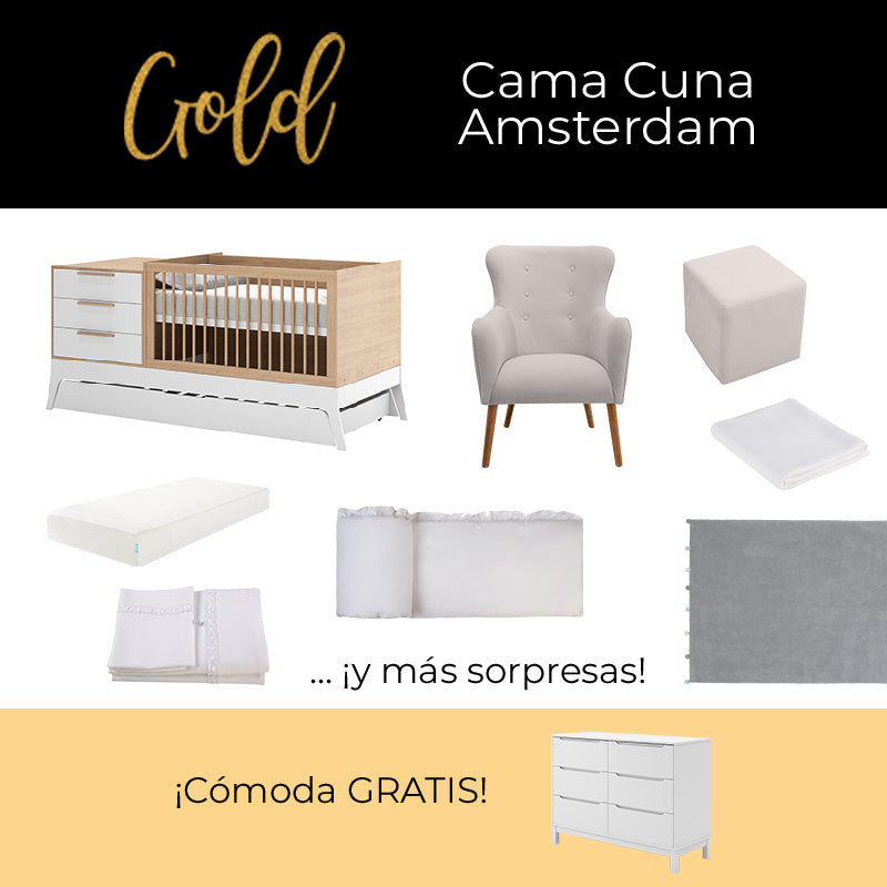 Paquete Amsterdam Gold