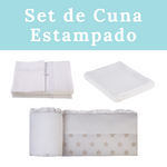 Set de Cuna ESTAMPADO