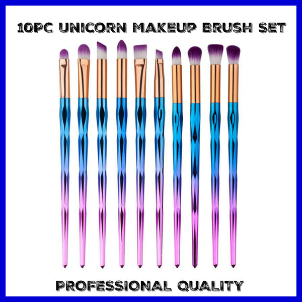 10PC Lot Themed Makeup Brushes On Sale @ I Sell Goods