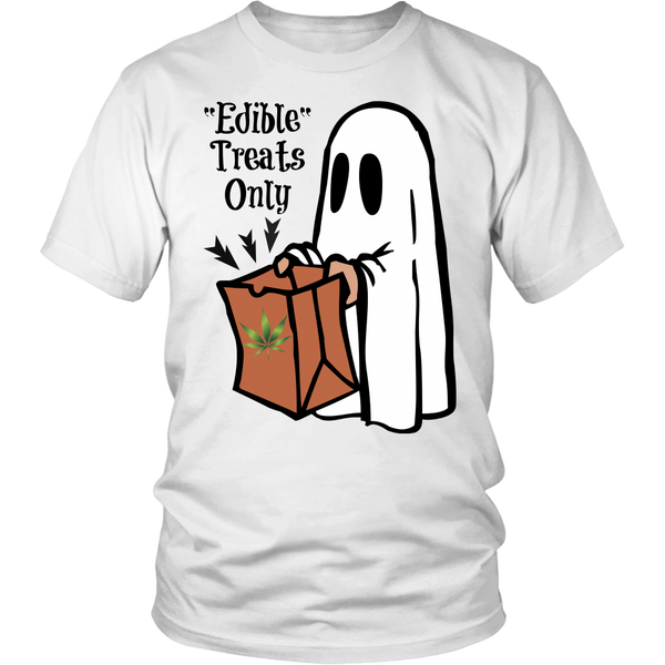 Unisex Edible Treats Only Halloween Shirt
