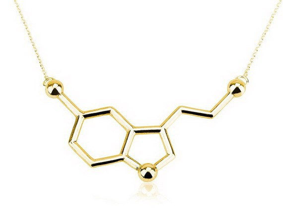 Beautiful Chemistry Molecule Necklace - Necklaces - I Sell Goods - 1