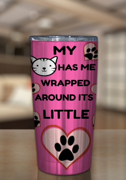 20oz Cat Lovers Tumbler