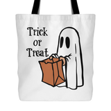 Trick or Treat Tote Bag
