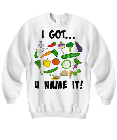 Sweatshirt - U Name It - Shirt / Hoodie - I Sell Goods - 1