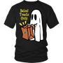 Unisex Baked Treats Only Halloween Shirt - Yellow Letters