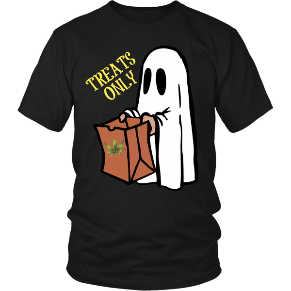 Treats Only Ghost Shirt v1