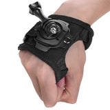 360 Degree Rotation GoPro Hand Wrist Strap Mount + Screw