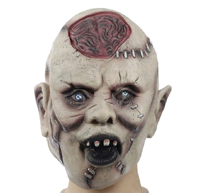 Silicone Ghoul Horror Mask