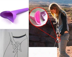 Portable Women's Urine Funnel  - Camping Urinal Travel Toilet