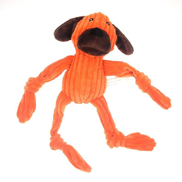 Plushy Squeaky Dog Toys (7 Variations)