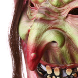Latex Adult Old Witch Mask