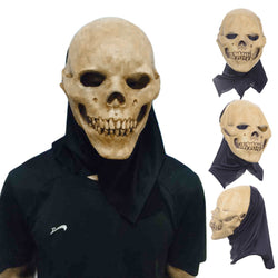 Scary Latex Full Head Skull Mask