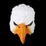 Half-Face White Eagle Mask