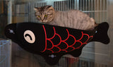 Fish-Shaped Hanging Cat Lounger Bed (3 Colors)