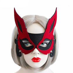 Half Face Halloween Masquerade Eye Mask
