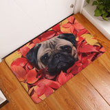 Super Adorable Pug Floor Mats