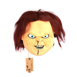 Latex Chucky-Like Halloween Mask
