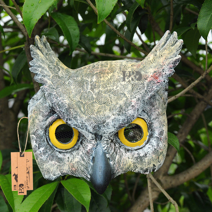 7inch Half Face Owl Masks For Adults