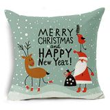 Holiday Themed Throw Pillow Covers