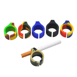 30Pcs/Lot Silicone Smoking Ring