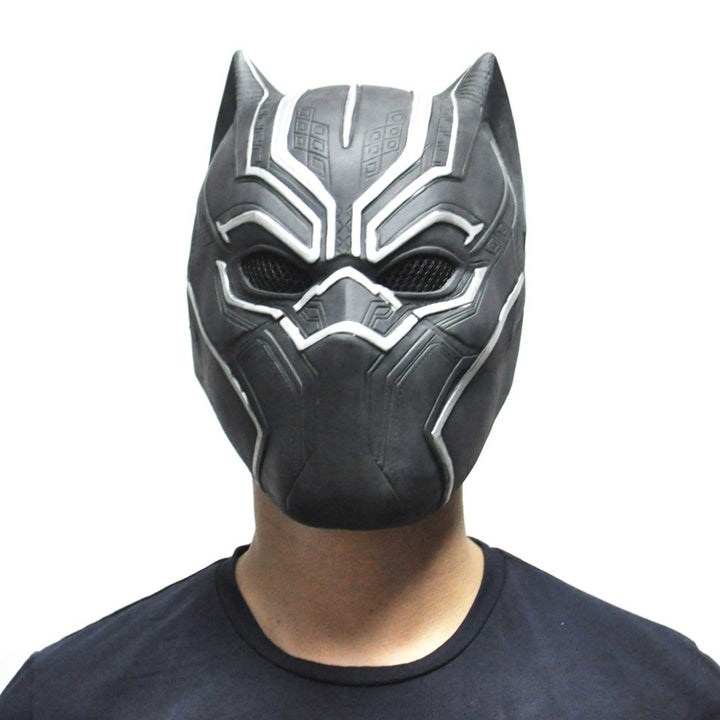 Black Panther Halloween Mask - Latex