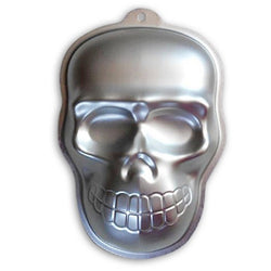 Aluminum Skull Shape Cake Pan - Chiffon Cake - DIY Decorating - Cake Pan - I Sell Goods