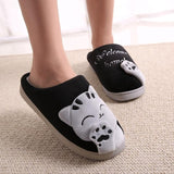 Cat Lovers House Slippers Non-Slip Bottoms