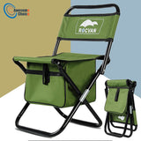 Durable Foldable Fishing Chair with Fishing Bag