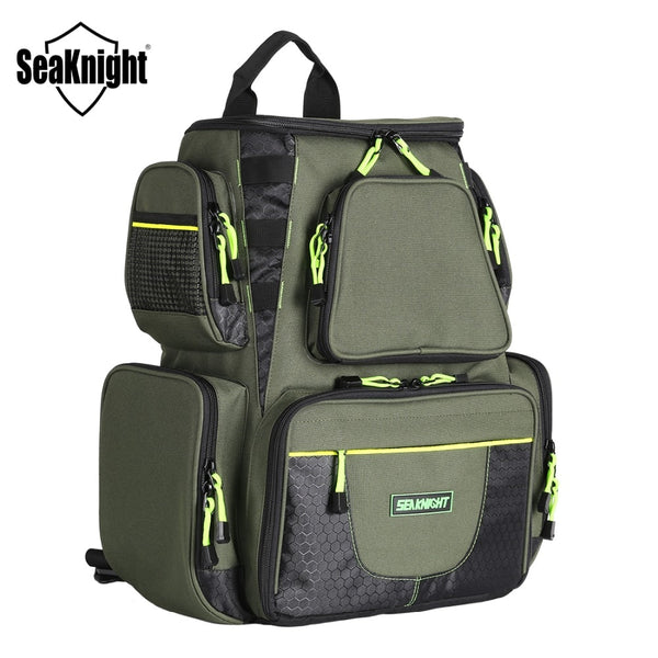 Multifunctional Fishing Backpack with Bait Lure Storage